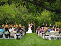 Farm Kitchen Orchard Wedding