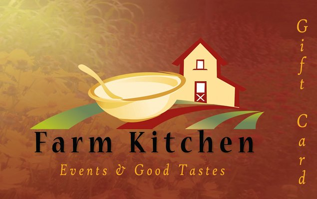 Farm Kitchen Gift Card