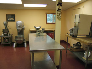 Mixer and Prep Room
